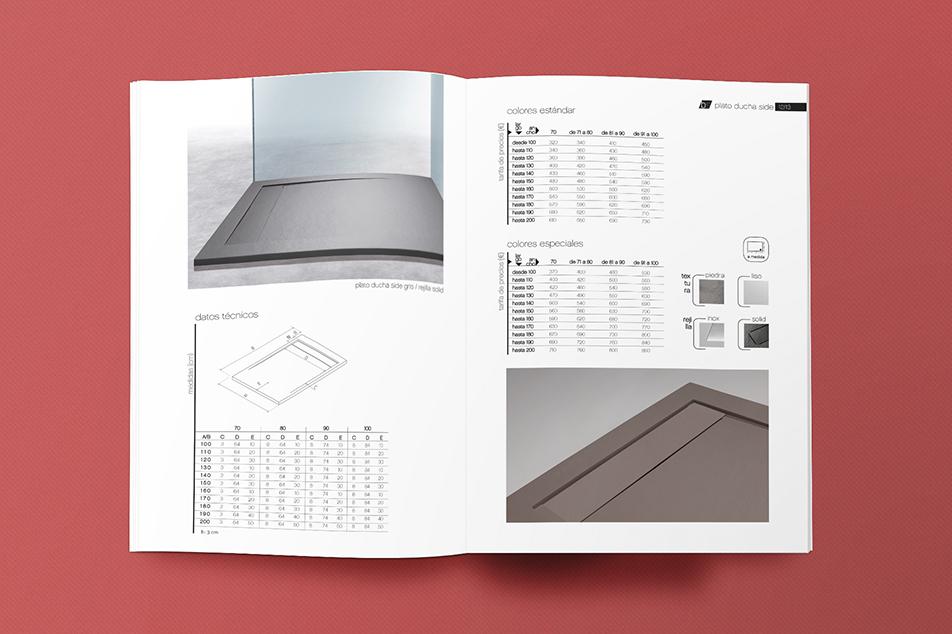 Bsurface Platos De Ducha.Catalogo Bsurface 2015 Llibres Creative Design